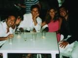 Francesco De Francesco a destra tra i soci del Rotaract Club Amantea
