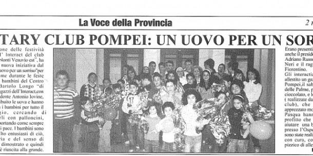 """articolo da """"La Voce della Provincia"""""""