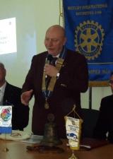 il governatore del Rotary Distretto 2100, Michelangelo Ambrosio