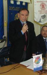 il presidente del Rotary Pompei Oplonti Vesuvio Est, Alfredo Vaccaro