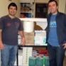 Un anno di servizio alla mensa dei poveri